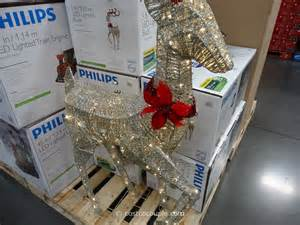 philips 60 inch led lighted deer