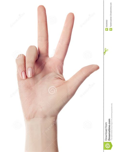 to finger three fingers clipart clipart suggest