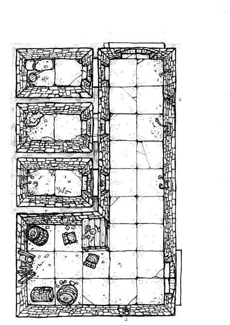 dungeon floor plans dungeon floor plan prison wip by billiambabble deviantart