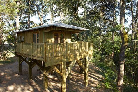 Construire Terrasse Bois Sur Pilotis by Cabane Sur Pilotis Cabanes Co
