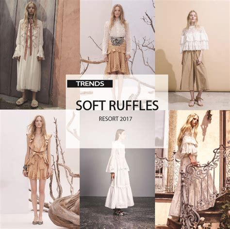 fashion trend report template trend report womens soft ruffles resort 2017
