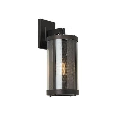 feiss bluffton collection 1 light rubbed bronze
