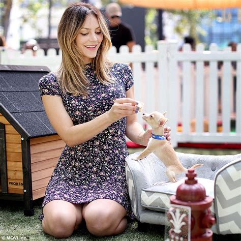Katharine Clears Up Tales by Katharine Mcphee Pictured With Newly Adopted 10 Year