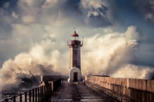 Wallpaper For Bathroom Ideas by Real Lighthouse Storm Galleryhip Com The Hippest