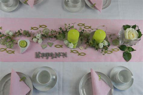 Tischdekoration Hochzeit Rosa by Tischdekoration Kommunion Rosa Tischdeko Kommunion