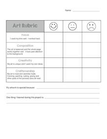 Basic Rubric Template by Rubric For Elementary Is Basic An Elementary