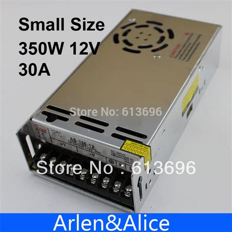 Power Supply 12v 30a Aif612 aliexpress buy 350w 12v 30a small volume single output switching power supply for led