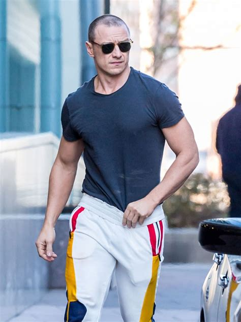 james mcavoy muscles james mcavoy is getting well swole for the split sequel