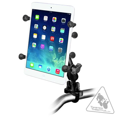 Tablet Bolt Ram Mounts Rail U Bolt Mount 7 Quot Tablet X Grip Kit Twistedthrottle