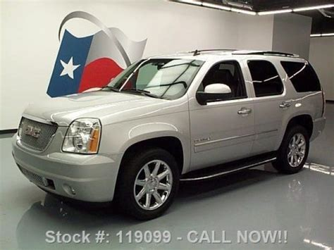 2010 gmc yukon denali nav dvd loaded milton ontario used car for sale 2148227 buy used 2010 gmc yukon denali sunroof nav dvd rear cam 20 s 53k texas direct auto in stafford
