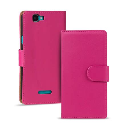 Flip Cover Wiko Getaway Pink handy tasche f 252 r wiko smartphone flip cover schutz