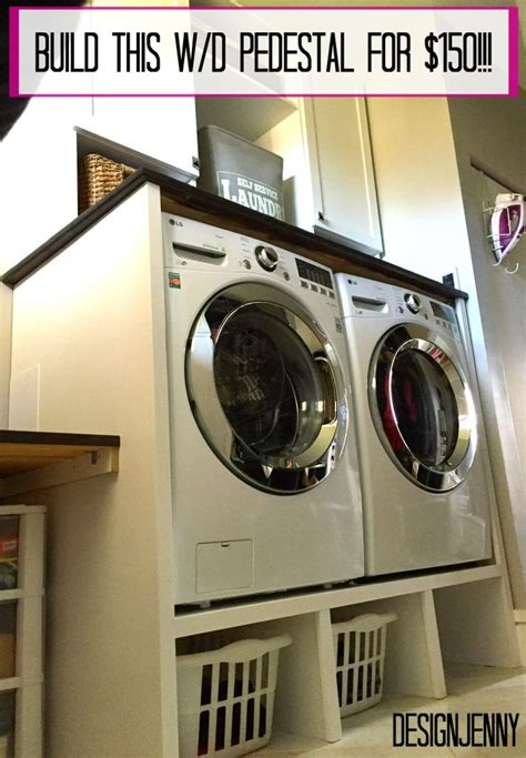 Diy Laundry Pedestal With Drawers by 25 Best Ideas About Washer Pedestal On
