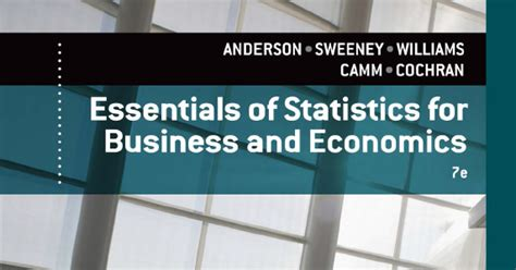 essentials of statistics for business and economics free business ebooks essentials of statistics