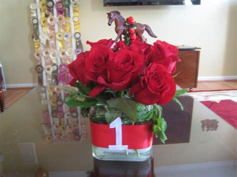 Another Centerpiece For Kentucky Derby Party Kentucky Kentucky Derby Centerpieces