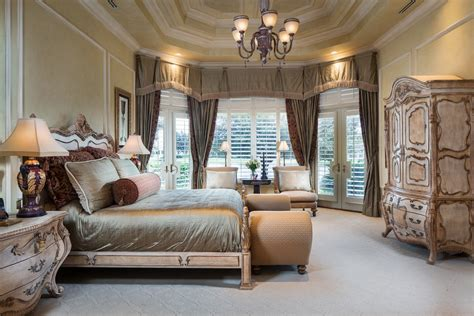 master bedrooms in mansions lakefront mansion at quail west naples blog