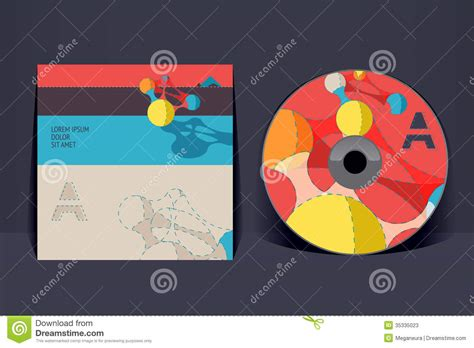 cd cover design template stock photos image 35335023