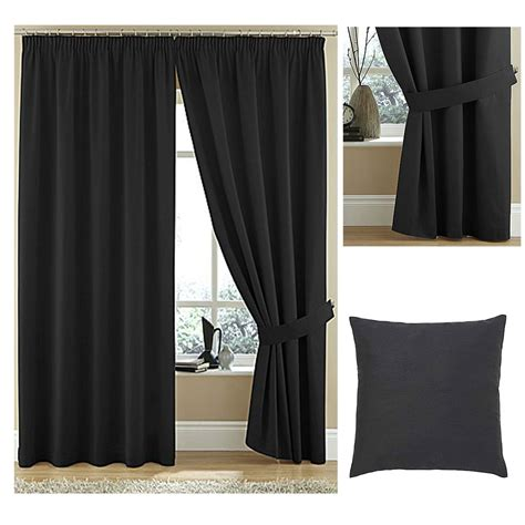 plain curtains twill high quality lined pencil pleat curtains 100 cotton