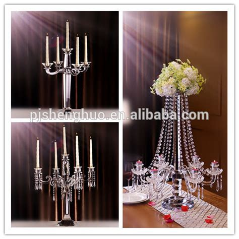 the candelabra wedding centerpieces for