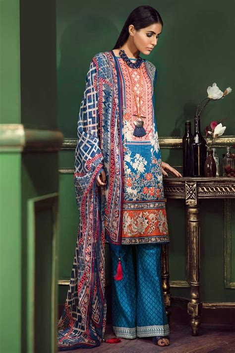 design dress lawn khaadi latest summer lawn dresses designs collection 2018 2019