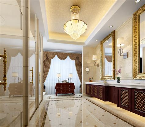 interior decoration of home house interior design luxury washroom decoration 3d house
