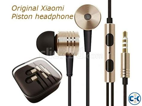 Earphone Xiaomi Mi Piston Original 100 100 original xiaomi mi piston v2 1 in ear headphones clickbd
