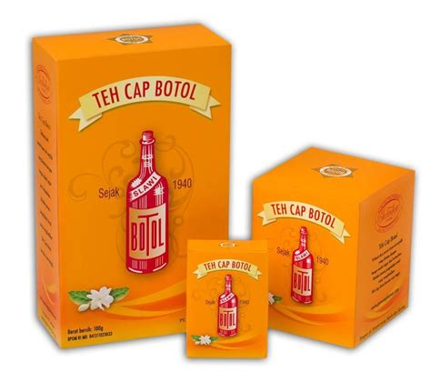 Teh Cap Botol teh cap botol green tea products indonesia