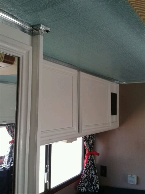Travel Trailer Ceiling Panels by 12 Best Images About Our Rv Remodel On Cabbage