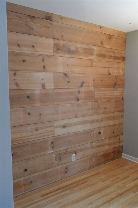 hometalk reclaimed wood plank wall