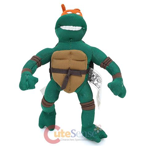 teenage mutant ninja turtles michaelangelo 8 quot action plush