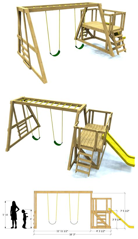 Wooden Swing Plans Download Free