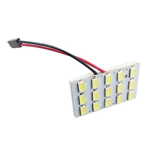 Kabin Dome 15 Smd 5630 5630 15smd car white led interior dome reading trunk panel light bulb alex nld