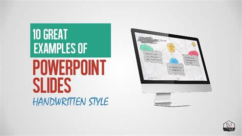 10 Great Exles Of Powerpoint Presentations Handwriting Exles Of Amazing Powerpoint Presentations