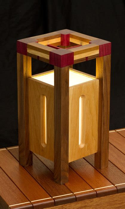 Woodworking Lamp Projects
