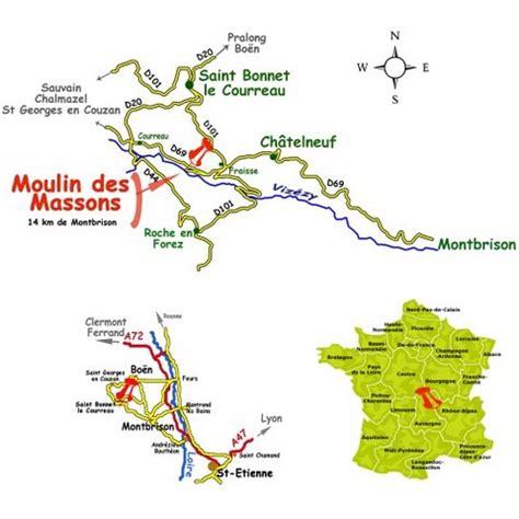 moulin des massons, situation géographique