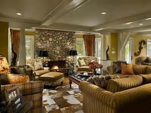 southwestern lodge style living room hgtv