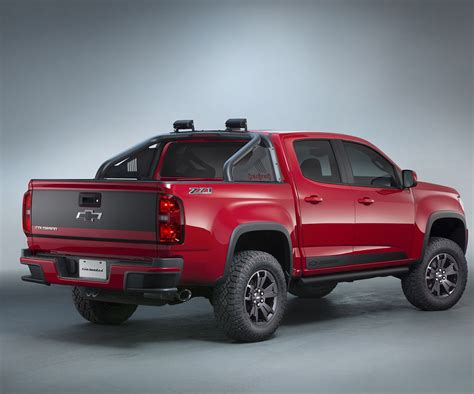 chevy colorado 2017 chevrolet colorado changes specs