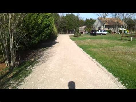 Driveway Rock Delivery Cad Oklahoma Slinger Rock Shooter Spreading