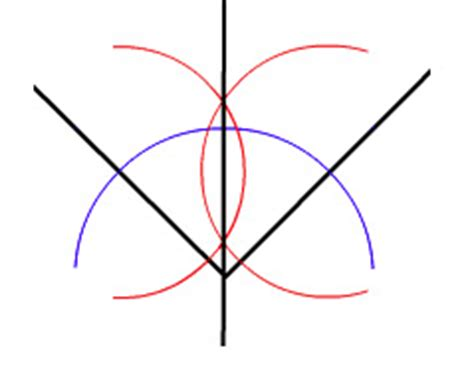 You Can Bisect An Angle Using The Paper Folding Technique - trisecting the angle with a straightedge plus maths org