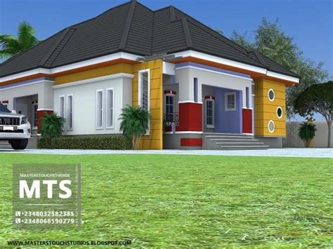 ghanian client 5 bedroom bungalow residential homes and fascinating house plans ghana 3 bedroom house plan for a
