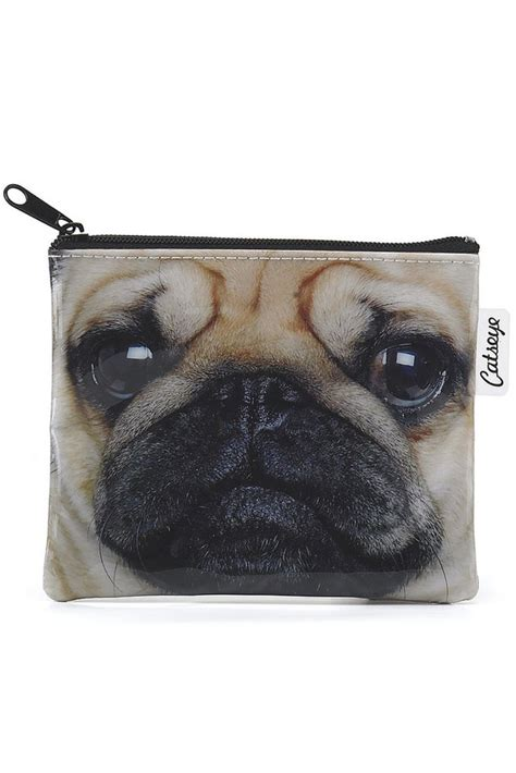 catseye pug catseye pug coin purse at sue parkinson