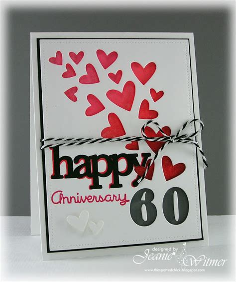 60th Wedding Anniversary Card Sayings by The Spotted Happy 60th Anniversary