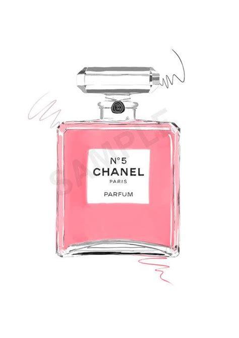 Parfum Chanel Pink pink chanel no 5 parfum wall