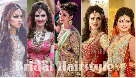 Wedding Hairstyles In Pakistan by Bridal Hairstyles 2017 For Girlslatest