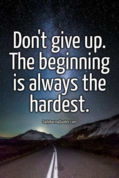 Dont Up The free image don t give up the beginning is