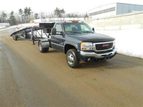gmc cer trailer buy used gmc 3500 dually truck and trailer car