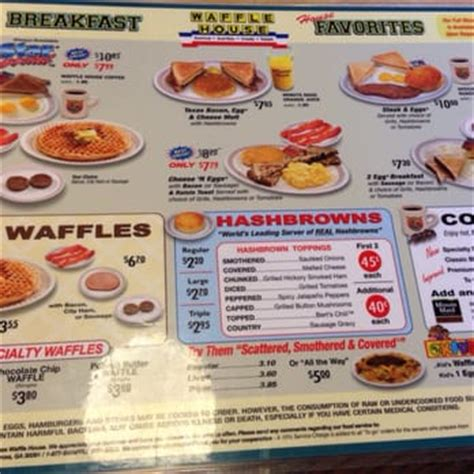 Waffle House Menu With Prices by Waffle House Closed 30 Photos 44 Reviews Breakfast