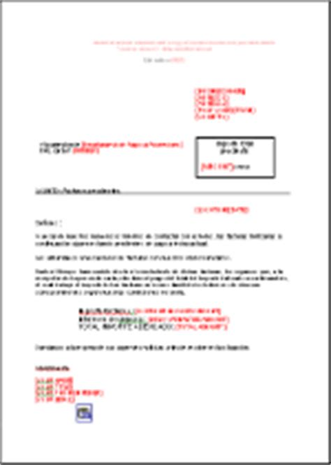 Invoice Delay Letter Reminder Letter Delay Penalties Type Es