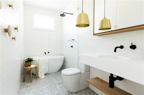 warm bathroom tiles 4 warm metal fixture ideas to brighten up your bathroom