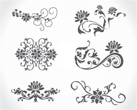 pattern vector cdr free download vector floral vintage ai svg eps vector free download