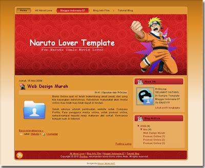 templates blogger naruto dedi world kumpulan template naruto